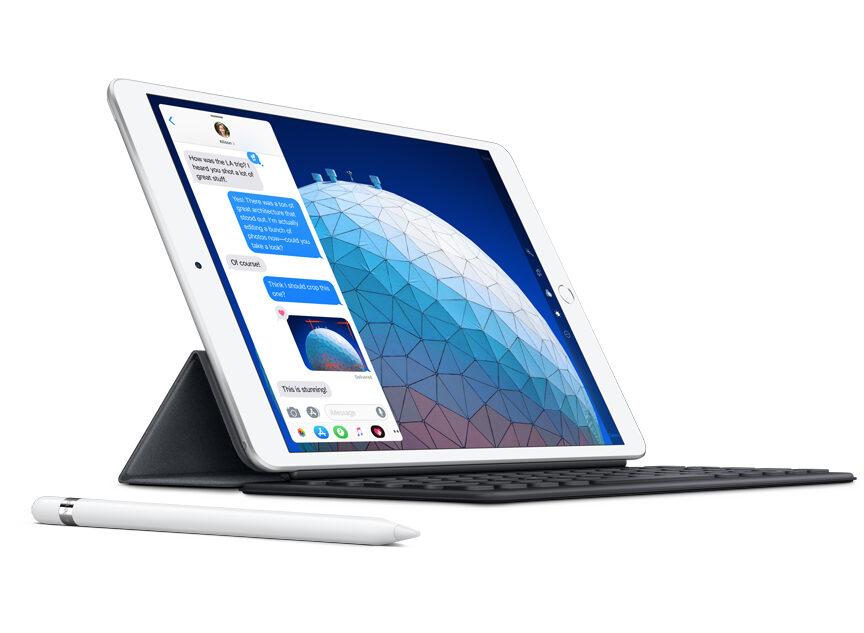 iPad Air. Mer kraft för alla.