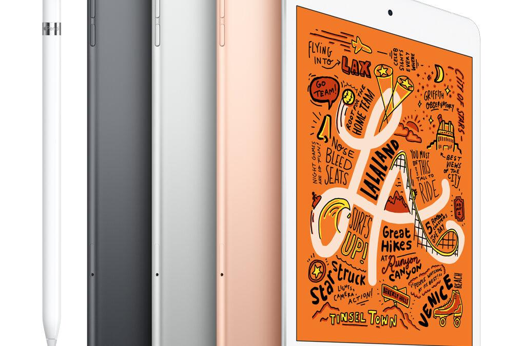 iPad mini. Redo för stordåd.
