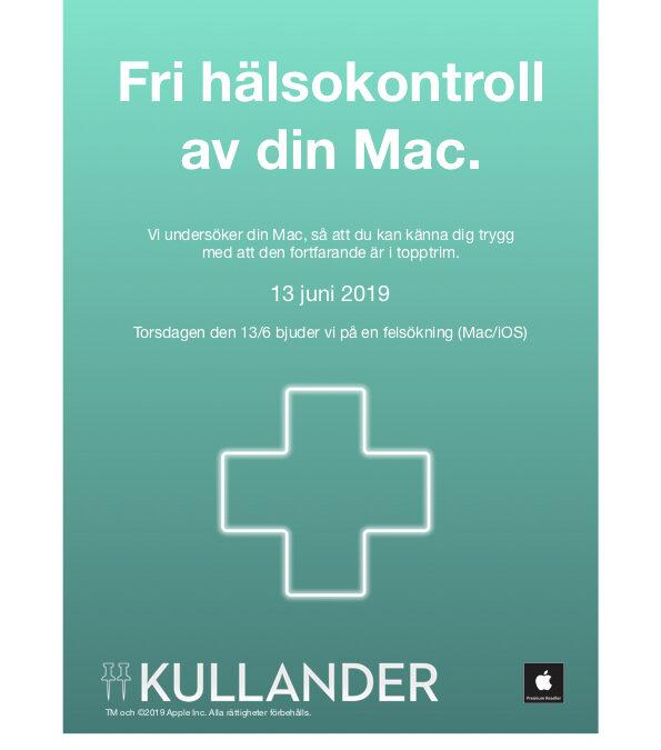 Välkommen till Hälsodagen på Kullander!