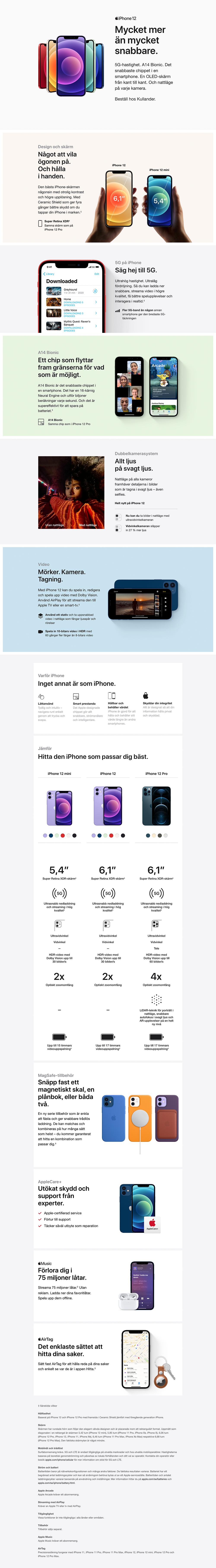 iphone 12 purple banner